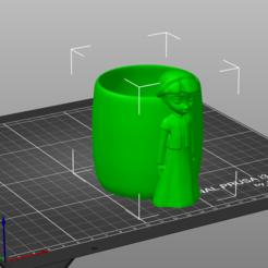 elsa_1.PNG Télécharger fichier STL Verre Elsa FROZEN • Objet pour imprimante 3D, hacena81