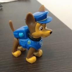Download 3D printing templates PAW patrol Chase, hacena81
