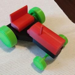 Télécharger fichier 3D Tracteur, hacena81