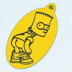 1.png Download STL file Bart Simpson • 3D print template, hacena81