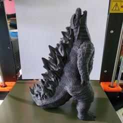 Download STL file Godzilla! No Supports!, MoFuzz