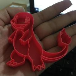 Fichier 3D Charmander Coupe-biscuits - Pokemon, jackellita
