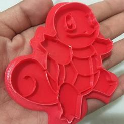 3D print model Squirtle - Cookie Cutter - Pokemon, jackellita