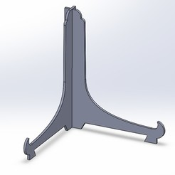 Fichier STL support for display discs, mail18