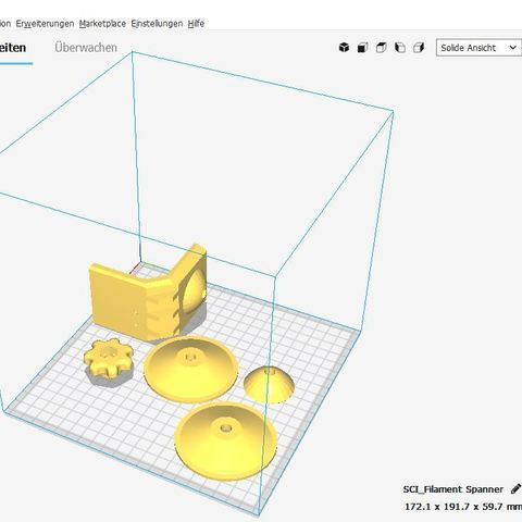 Filament Holder Anycubic I3 Mega New only on Cults