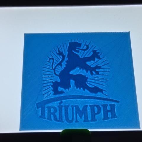 Download free STL file Triumph Werke Nürnberg Logo (German Triumph), SCI