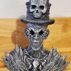 Download free 3D printer designs VOODOO SORCERER, Samhainn