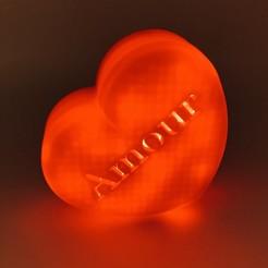 Télécharger plan imprimante 3D Coeur de la St Valentin, julien-roinard