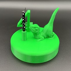 Descargar modelo 3D gratis Portavelas de cumpleaños de dinosaurios, julien-roinard