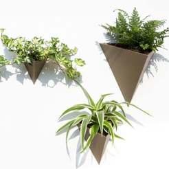 Descargar diseños 3D Plantador de pirámides de pared de lujo, Fekkopsky