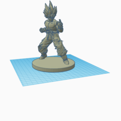 Download free 3D printing models goku dragon ball, billy-and-co