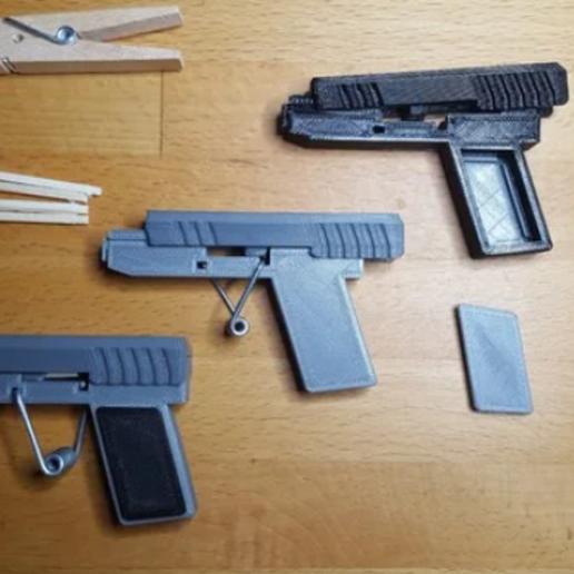 matchstick gun by aerland - Thingiverse – Avast Secure Browser 11_04_2020 13_45_41.png Télécharger fichier STL gratuit glock/gun/pistol • Modèle à imprimer en 3D, billy-and-co