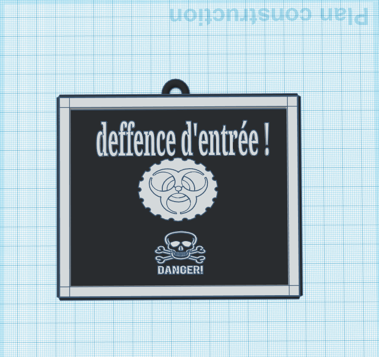 3D design Exquisite Kup-Stantia _ Tinkercad - Google Chrome 13_04_2020 14_32_18.png Télécharger fichier STL gratuit danger panneau • Plan pour imprimante 3D, billy-and-co