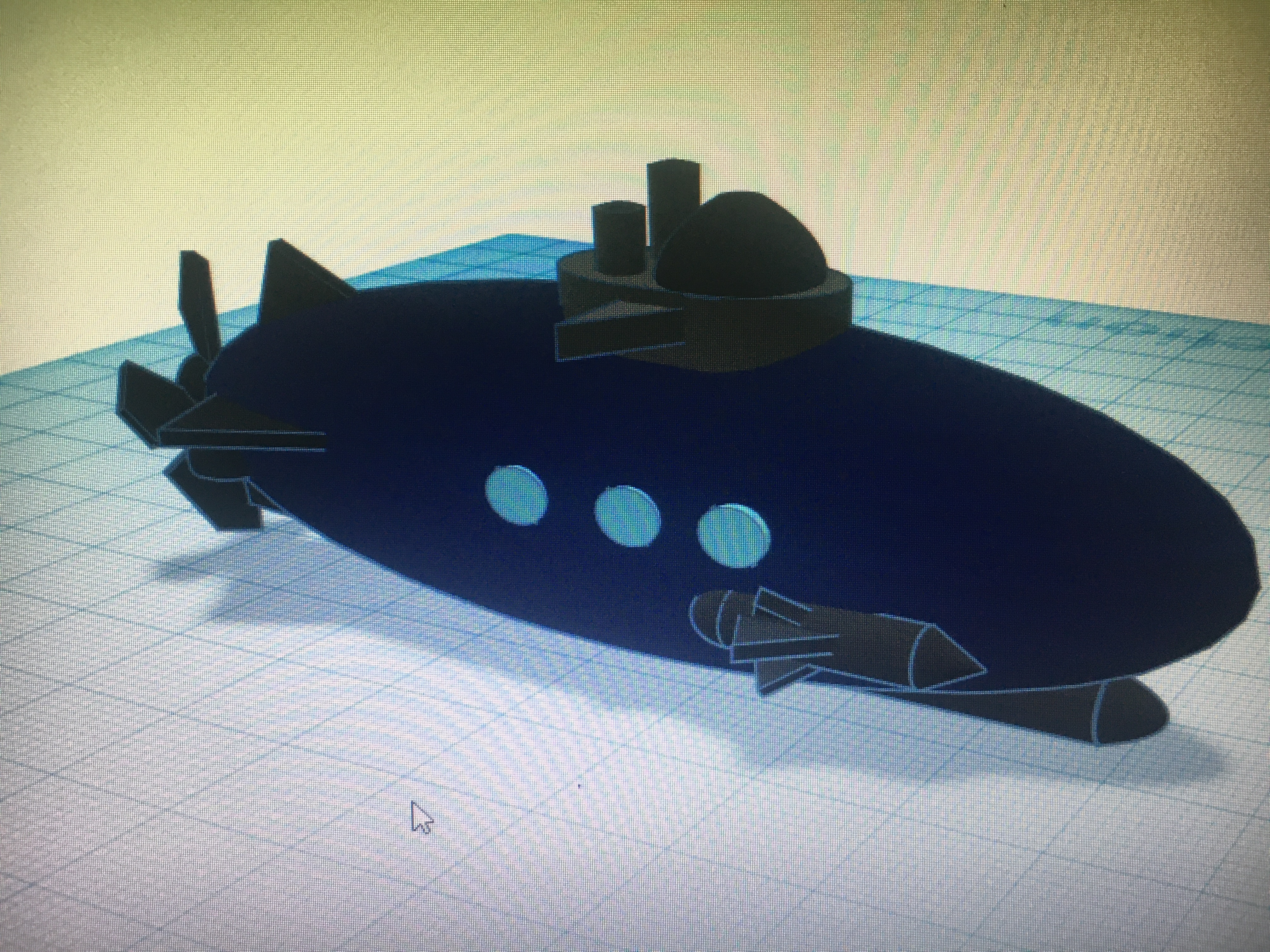 IMG_3826.JPG Download free STL file submarine/submarine • Object to 3D print, billy-and-co