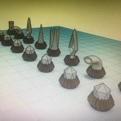 IMG_3887.JPG Télécharger fichier STL gratuit Game of chess / jeux d'échec • Plan imprimable en 3D, billy-and-co