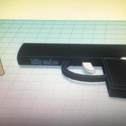 Download free 3D printer designs pistol gun, billy-and-co