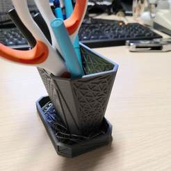Download free 3D printer templates Pencil cup, lbopok