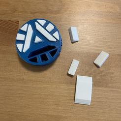 Download 3D printing files Iron Man Arc Reactor , Kris_Ship
