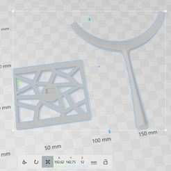 Download 3D print files Voronoï jewellery holder, 3dfgbzh