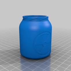 Glass_40.png Download free STL file RUST Anti Aadioactivity Pill Glass • 3D print model, rabuki