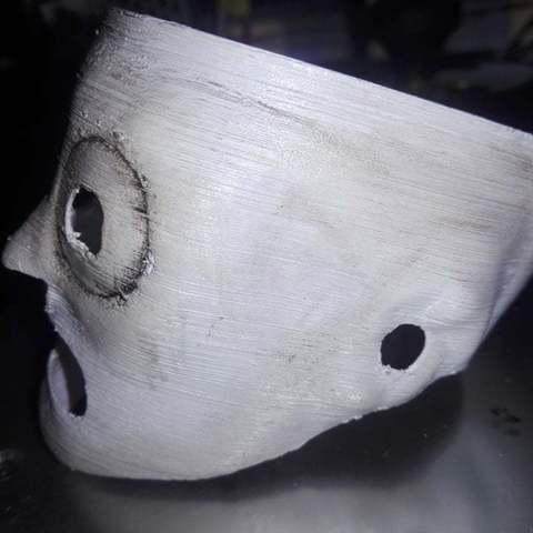 Download 3D printer templates Corey Taylor Mask - Slipknot Corey Taylor Mask, AsDfog