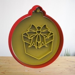 N1.jpg Télécharger fichier STL Ensemble d'emporte-pièces pour biscuits de Noël / Cortadores de galletas de Navidad • Design pour imprimante 3D, AsDfog