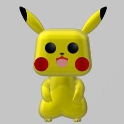 Descargar modelos 3D Pikachu POP, AsDfog