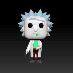 Descargar archivos 3D gratis Rick Sanchez - Rick and Morty, AsDfog