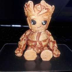 Download 3D printing models Baby Groot Cool, AsDfog