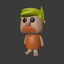 Download 3D model The Flintstones - Barney Rubble / Los Picapiedra - Pablo Marmol, AsDfog