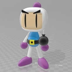Download free STL file Bomberman, AsDfog