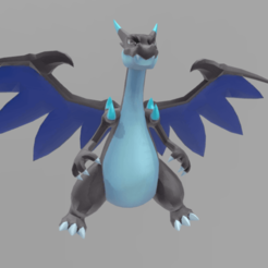Download free 3D model Mega Charizard, AsDfog