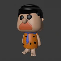 Download 3D printer model The Flintstones - Fred / Los Picapiedra - Pedro, AsDfog