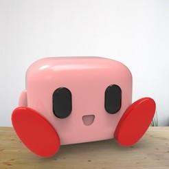Kirby1.jpg Download STL file Funko Kirby • 3D print model, AsDfog
