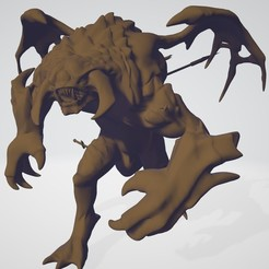 Download 3D printing templates Walking Roshan, KengdallFolmer