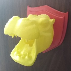 Download 3D printer files Hippo Head, KengdallFolmer