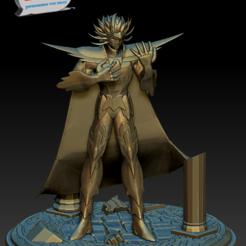 Imprimir en 3D Saint Seiya - Deathmask Caballero Dorado de Cancer, 3dactive