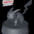 Descargar modelos 3D gratis Pokemon Pikachu, 3dactive