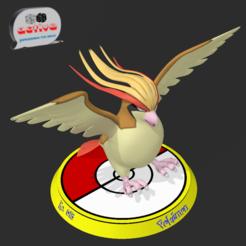 Impresiones 3D Pokemon Pidgeot, 3dactive
