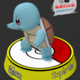 Descargar archivo 3D gratis Pokemon Squiertle, 3dactive