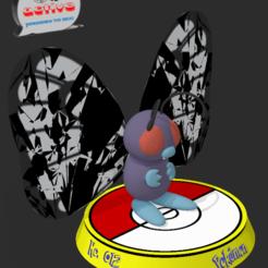Descargar archivo 3D Pokemon Butterfree, 3dactive