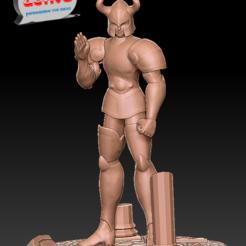 Descargar modelos 3D Saint Seiya - Shura Caballero Dorado de Capricornio, 3dactive