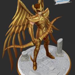Télécharger modèle 3D Saint Seiya - Aiolos Chevalier d'or du Sagittaire, 3dactive