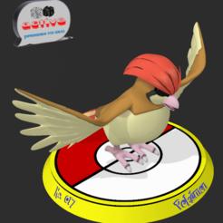 Descargar archivos STL Pokemon Pidgeotto, 3dactive