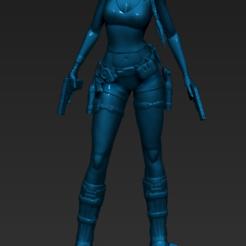 Download 3D printing templates Lara Croft - Tomb Raider, 3dactive