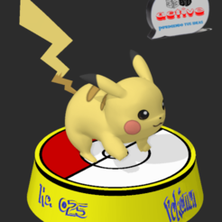 Download free 3D model Pokemon Pikachu, 3dactive