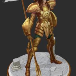 Télécharger fichier impression 3D Saint Seiya - Dohko Chevalier d'or de la Balance, 3dactive