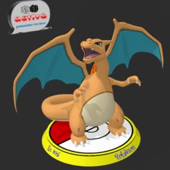 Télécharger fichier STL Pokémon Charizard, 3dactive