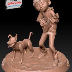 Télécharger fichier imprimante 3D Coco - Miguel et Dante, 3dactive