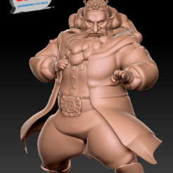 Download 3D printer files Legend of Zelda: Breath of the Wild.  King Rhoam, 3dactive
